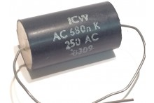 ICW 0.68uF 680nF 250Vac POLYPROPYLENE AXIAL CAPACITOR