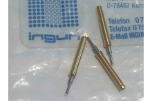 INGUN GKS-113 SPRING LOADED PIN TEST POINT RHODIUM PROBE (x5) fbb22.6