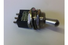 MINI CHANGE OVER TOGGLE SWITCH STANDARD FRONT SIZE BUT SMALL BEHIND