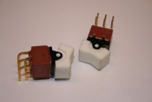 MINIATURE PCB MOUNT ROCKER SWITCH