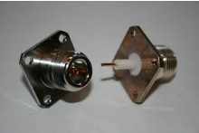 N TYPE CHASSIS FEMALE - INSULATED PIN