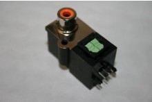 PHONO FEMALE WITH TOS OPTICAL LINK