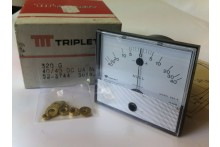 TRIPLETT 320G 40uA - 0 - 40uA CENTER ZERO PANEL METER